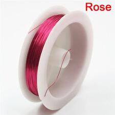 Fashion 0.3mm Copper Wire Beading Wire Jewelry Making Cord String Accessories SR