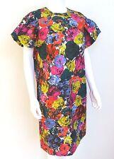Dries van Noten Floral Bell Sleeve Shift Dress 40 uk 12