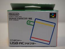 Nintendo Classic Mini Super Famicom AC Adapter SFC Console Game Unused Japan F/S