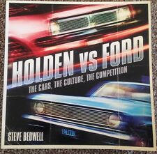 Holden vs Ford By Steve Bedwell Paperback Near New Condition