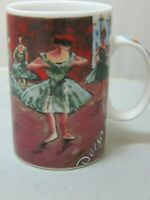"Chaleur Master Impressionists Coffee Mug Degas Dance Class Ballet Dancers 4"""
