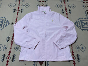 Masters Womens L Magnolia Lane Full Zip L/S Jacket Pink Augusta National A4