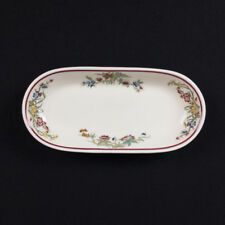 Bombay Pattern Pickle Dish Old Ivory Restaurant Ware by OPCo Syracuse circa 1940