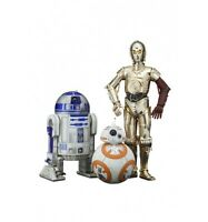 Kotobukiya Star Wars Episode VII pack 3 figurines PVC ARTFX 1/10 C-3PO & R2-