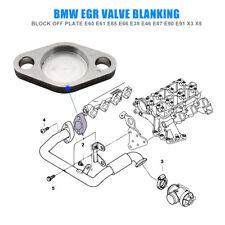 Car EGR Valve Blanking Plate Block Gasket for BMW E53 X5 E38 E39 E46 X5 Durable