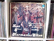 LOS 4 HERMANOS SILVA | Siempre juntos los caminos de america | LP VG+ LISTEN ♫