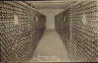 Hammondsport NY Champagne Vault Pleasant Valley Wine Co c1910 Postcard