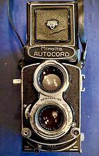 Minolta Autocord 1959 Twin Lens Reflex W/sharp Rokkor Lens