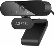 More details for agptek usb 1080p full hd webcam with tripod + mic for pc, windows, mac , android