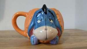 Disney Store - Eeyore Pumpkin Decorative Mug - Winnie the Pooh
