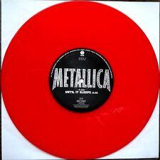 Metallica -  Until it Sleeps - RED Vinyl 10 Inch  NEW    Limited Vertigo Release