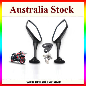 Left Right Side Rear View Mirrors For Yamaha YZF600 YZF R1 R6 R3 R125 R25 R15