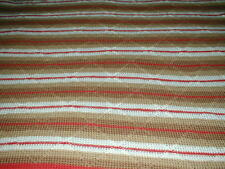 Handmade Crochet Estate Vintage Afghan Throw 64X44 inches with fringe