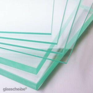 mit runden Ecken ESG ohne Stempel. bis 100 x 200 cm 500 x 600 mm Glasplatten ESG 4mm klar durchsichtig Kanten geschliffen und poliert Nach Ma/ß bis 50 x 60 cm