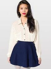 American Apparel corduroy circle skirt L