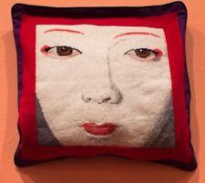 Ehrman Diseñador Kaffe Fassett Kabuki Geisha cara Tapiz Bordado Gráfico sólo