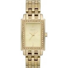 DKNY NY8624 Ladies Essentials and Glitz Gold IP Watch