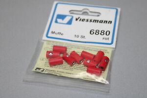 Viessmann 6880 10 Piece Sleeve Red Gauge H0 Boxed
