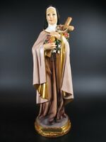 Heilige Therese Theresa,31 cm,Heiligenfigur Poly Figur,NEU