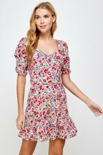 Cottagecore Floral Sweetheart Dress