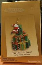 "Hallmark Keepsake Ornament 2005 ""THE OPENING GAME""  Club Exclusive  **Santa**"