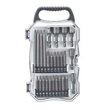Genesis Universal Impact Driver Bit Accessory Set Durable Carrying Case 26 Piece