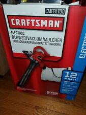 CRAFTSMAN CMEBL700 ELECTRIC BLOWER/VACUUM/MULCHER. BRAND NEW IN BOX.