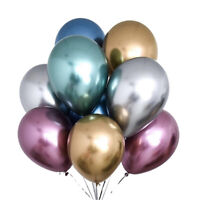 10Pcs Balloons Latex glossy Wedding kids Birthday Party Home Decorations 10""
