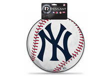 MLB New York Yankees Die Cut Felt Pennant Sign Wall Man Cave Helmet NEW