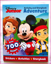 Disney JUNIOR Activity & Story Book 70pg  700 STICKERS & Colouring NEW - Mickey