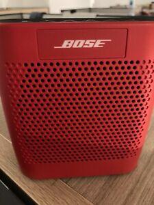 BOSE SoundLink Color Bluetooth Wireless Speaker, Red