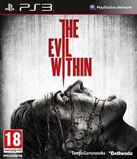 THE EVIL WITHIN PS3 ESPAÑOL NUEVO PRECINTADO CASTELLANO