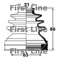 Giunto CV BOOT KIT PER ROVER 75 FCB2850