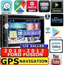 2010-2012 FORD FUSION GPS NAV SYSTEM W/WIFI BLUETOOTH CD/DVD CAR RADIO STEREO
