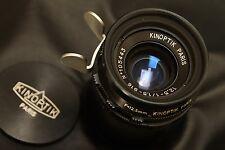 Kinoptik Paris  12.5mm f 1,5 Type 16,  arriflex mount. Mint  conditions