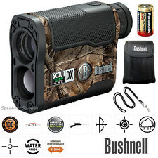 Bushnell Scout DX 1000 Yard ARC Laser Rangefinder Waterproof Fogproof Angle 6X