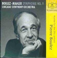 PIERRE BOULEZ/CSO - GUSTAV MAHLER-SYMPHONIE NO.9  (CD)  4 TRACKS  NEU