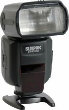 Sunpak DF4000U Hot-Shoe Flash Speedlite TTL for Canon Rebel T3, T5, T7i