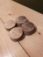 More details for twenty uncirculated 1967 half crown coins - elizabeth ii - high lustre (20.3)