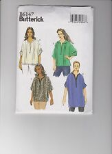 From UK Sewing Pattern Misses' Top & Tunic Size 18W - 24W  # 6147