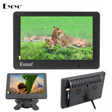 "EYOYO S702 7"" TFT LCD PC DVD TV Monitor Display 1024*600 VGA AV YUV,Audio,Video"