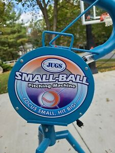 JUGS Small Ball Baseball Softball Pitching Machine Used-Great shape except tube