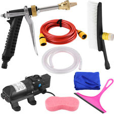 DC 12V 160PSI High Pressure Car Washer Cleaner Water Wash Pump Sprayer Kit Tool