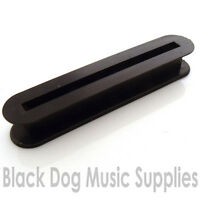 Electric guitar pickup bobbin blade type in black ABS plastic 53.5mm