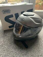 shoei gt air touring motorcycle helmet Matt grey large