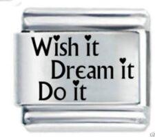 Wish It Dream It * Daisy Charms Fits Nomination Classic Size Italian Charm