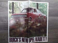 Original Vintage 1966 Buick's new Opel Kadett Economy Wagon Sedan