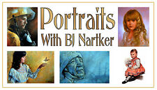 Painting Oil Portraits With Artist BJ Nartker
