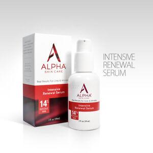 Alpha Skin Care Hydrox Intensive Renewal Serum 14% Glycolic AHA 2 oz/59ml