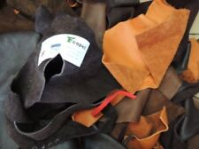 Organic Leather Pieces Amount 1 Kg ECOPELL Nappa Pure Vegetable Tanned Cowhide